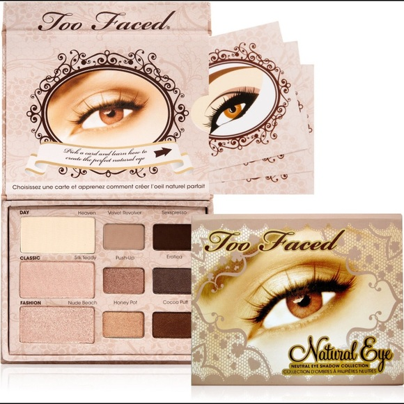 Too Faced Makeup Natural Eye Neutral Eye Shadow Palette Poshmark